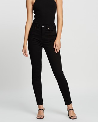Mng Women's Black Skinny - Noa Jeans - Size 32 at The Iconic