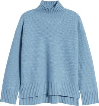 Everlane ReCashmere Textured Turtleneck Sweater