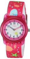 Timex Analog Elastic Fabric Strap (Little Kids/Big Kids)