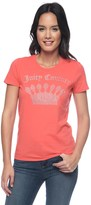 Juicy Couture Logo Filagree Crown Short Sleeve Tee