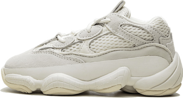 Adidas Yeezy 500 Infant 'Bone White' Shoes - Size 5K