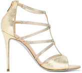 Rene Caovilla Karung sandals - women - Leather/PVC - 35