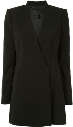 BCBGMAXAZRIA Double-Breasted Blazer