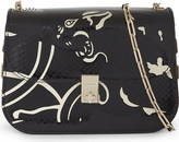 Valentino Panther python-skin & leather cross-body bag
