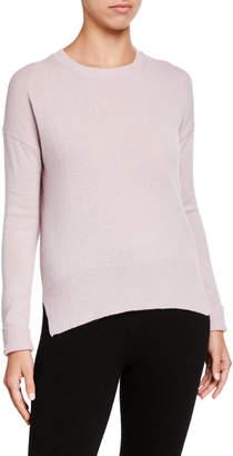 Amicale Drop Shoulder Crewneck Cashmere Sweater