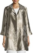 Caroline Rose Fine Vines Jacquard Party Jacket