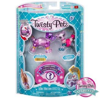 Twisty Pets Twisty Petz 3-Pack Unigloss Elephant Cat Zebra