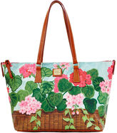 Dooney & Bourke Geranium Zip Top Shopper
