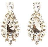 Charlotte Russe Oversize Gem Drop Earrings