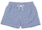 Frescobol Carioca - Angra Short-length Printed Swim Shorts