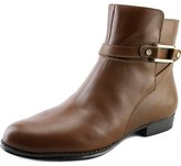 Isaac Mizrahi Tinker W Round Toe Leather Ankle Boot.