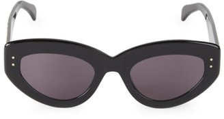 Alaia 51MM Embellished Cat Eye Sunglasses