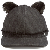 Karl Lagerfeld Women's Cat Ears Cap Black