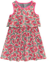 Epic Threads Pineapple & Watermelon Popover Dress, Little Girls, Created for Macy's