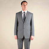 Thomas Nash Grey Plain Weave Regular Fit 2 Button Jacket