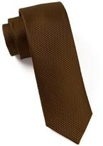 The Tie Bar Chocolate Grenafaux Tie