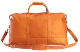 Royce Leather Luxury Handcrafted Duffel Bag