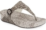 FitFlop 'Superjelly' Thong Sandal (Women)