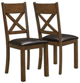 Monarch Two-Piece Cross-Back Dining Chairs