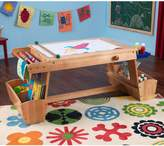 Kid Kraft Drying Rack and Storage Art Table