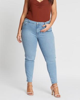 Mavi Plus Alissa Ankle Jeans