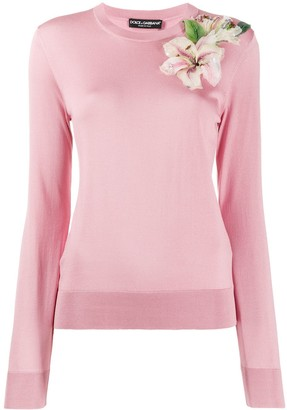 Dolce & Gabbana floral pullover