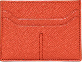 Tod's Stitched Embossed Leather Card Holder