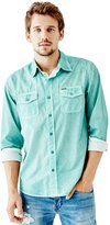 GUESS Laguna Pigment-Spray Regular-Fit Shirt