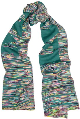 Missoni Space-dyed wool-blend scarf