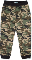 True Religion Green & Brown Camo French Terry Sweatpants - Boys