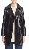 Simon Miller Women's Bowa Double Breasted Leather Jacket