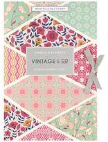 Heathcote & Ivory Vintage Fabric & Flowers Scented Drawer Liners, x 6