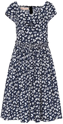 Marni Floral-printed cotton dress