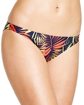 Milly Palm Print Bikini Bottom