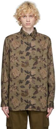 tss Brown Houndstooth B.D. Shirt