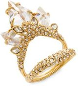 Alexis Bittar Miss Havisham Crystal Cluster Ring
