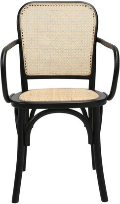 One World Lundy Rattan Dining Chair Pair