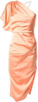 Manning Cartell one-shoulder dress