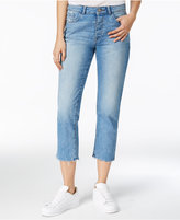DL 1961 Patti Frayed Ashland Wash Straight-Leg Jeans