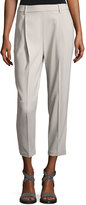 Brunello Cucinelli Wool-Blend Slouchy Pull-On Pants