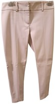 Patrizia Pepe White Spandex Trousers for Women