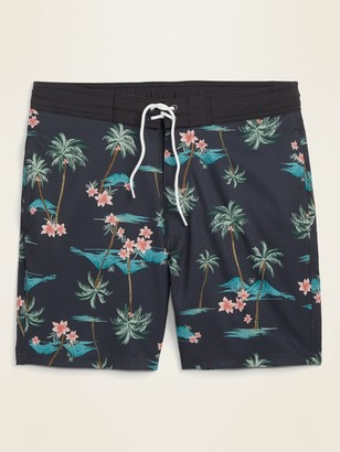 Old Navy Patterned Built-In Flex Board Shorts for Men -- 8-inch inseam