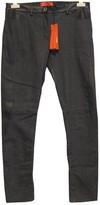 Tommy Hilfiger Navy Leather Trousers