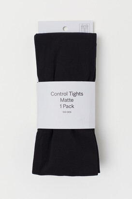H&M 100 Denier Control-top Tights