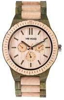 WeWood WKAPARBE Men's Kappa Army Wood Band Multi Watch