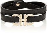 Salvatore Ferragamo Men's Double-Wrap Bracelet