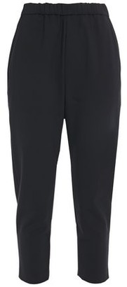 Nili Lotan Cropped Woven Tapered Pants