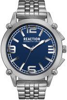 Kenneth Cole Reaction Men's Silver-Tone Bracelet Watch 49mm 10030949