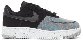 Nike Black Crater Air Force 1 Sneakers