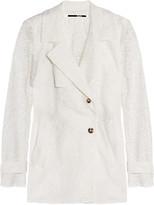 McQ by Alexander McQueen Macramé lace jacket